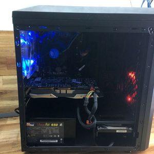 Thùng máy Gigabyte h81 - core i5 4670 - cấu hình khủng MT01