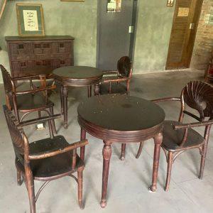 Bộ Bàn Ghế Gỗ Quán Cafe